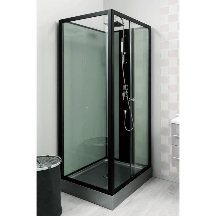 cabine de douche rectangle