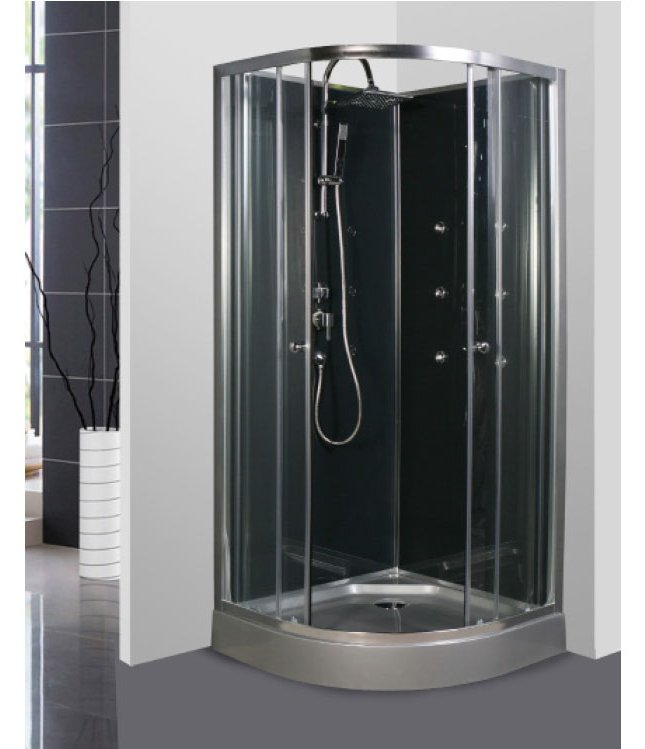 cabine douche d angle 90x90