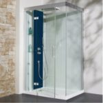 Cabine douche rectangulaire 120 x 90